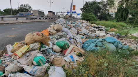 Rác biến bảng cấm đổ rác thành... rác