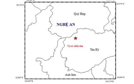 Động đất 4,2 độ richter ở Nghệ An, người dân nháo nhào bỏ chạy