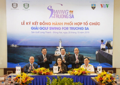 'Swing For Truong Sa' - giải gôn vì Trường Sa thân yêu