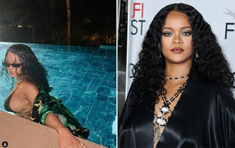 Rihanna có thể bị khóa tài khoản vì đăng ảnh quá gợi cảm