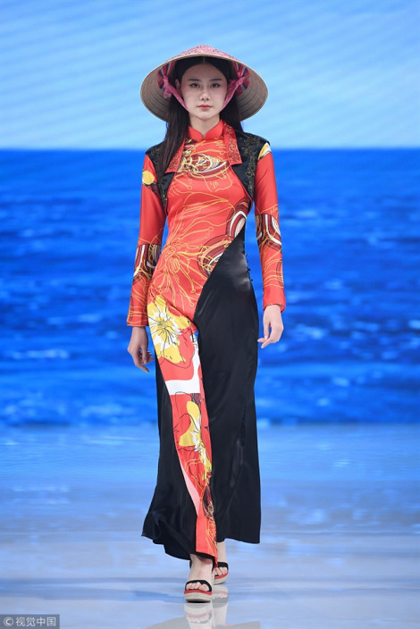 Nhật báo Trung Quốc nhận vơ áo dài, nón lá Việt Nam là 'phong cách Trung Quốc'