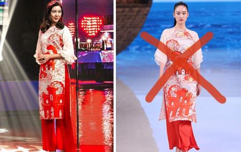 Mẫu áo dài mà báo Trung Quốc tự nhận 'phong cách Trung Quốc' là ăn cắp thiết kế của NTK Thuỷ Nguyễn