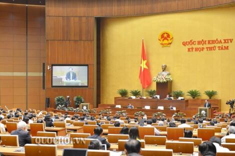 Quốc hội đang thảo luận phê chuẩn miễn nhiệm với Bộ trưởng Bộ Y tế