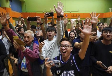 Bầu cử Hồng Kông: Phe ủng hộ dân chủ giành được nhiều phiếu hơn trước