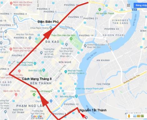 Cấm xe vào trung tâm thành phố trong hai ngày 7 và 8/12, bạn sẽ đi đường nào?
