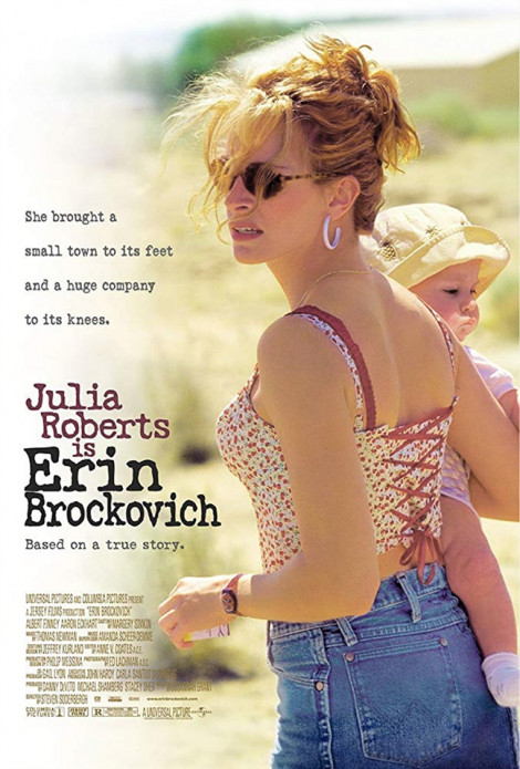 Erin Brockovich hay Julia Roberts - Tuy hai mà một