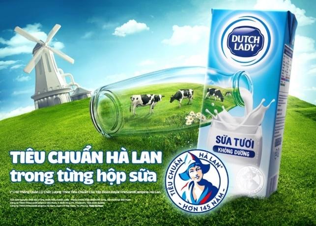 Co Gai Ha Lan - thuong hieu sua dau tien nhan huy hieu hoang gia