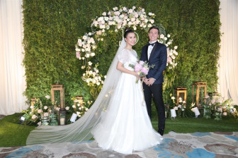 Toàn cảnh đám cưới Hoàng Oanh