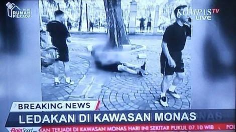Tấn công bằng chất nổ tại công viên Tượng đài Quốc gia ở Jakarta làm 2 sĩ quan bị thương