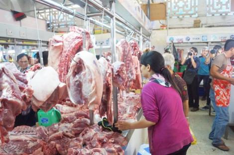 Khó đoán được giá thịt heo tại TP.HCM
