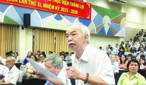 Cử tri TP.HCM quan ngại về chủ quyền ở Biển Đông và nạn tham nhũng