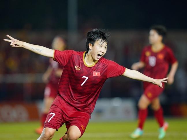 Ha Philippines 2-0, tuyen nu Viet Nam gap lai Thai Lan o tran chung ket