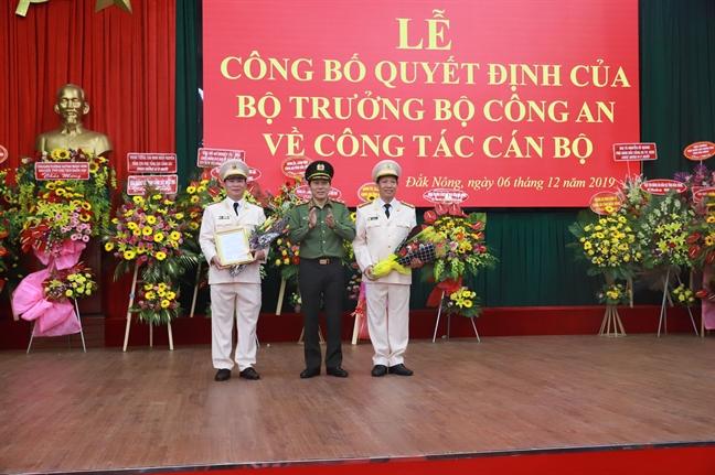 Bo Cong an dieu dong, bo nhiem tan giam doc Cong an tinh Dak Nong, Dak Lak