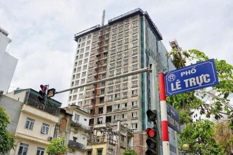 Thủ tướng yêu cầu xử lý dứt điểm vi phạm tại tòa nhà 8B Lê Trực để bảo đảm kỷ cương