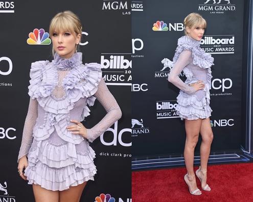 Thòi trang thảm dỏ của 'Cong chúa nhạc dòng que' Taylor Swift trong 10 nam