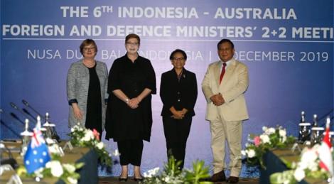 Úc và Indonesia ra tuyên bố chung bày tỏ quan ngại về tình hình Biển Đông