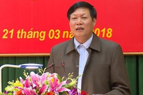 Phó Bí thư tỉnh Hưng Yên làm Thứ trưởng Bộ Y tế