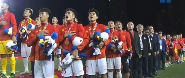 De bep U22 Indonesia, U22 Viet Nam lan dau vo dich SEA Games