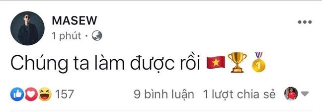 Nghe si Viet 'bao mang' mung Viet Nam vo dich SEA Games sau 30 nam
