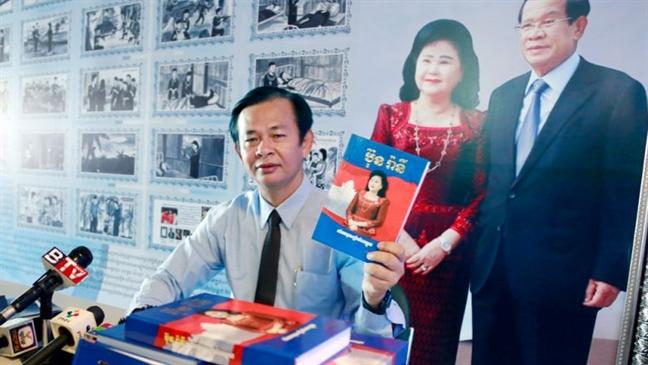 Ra mat cuon sach ve cuoc doi phu nhan Thu tuong Hun Sen