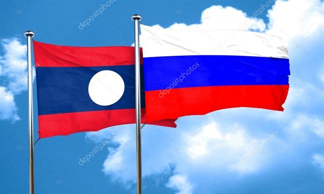 Nga, Lao to chuc tap tran chung lan dau tien