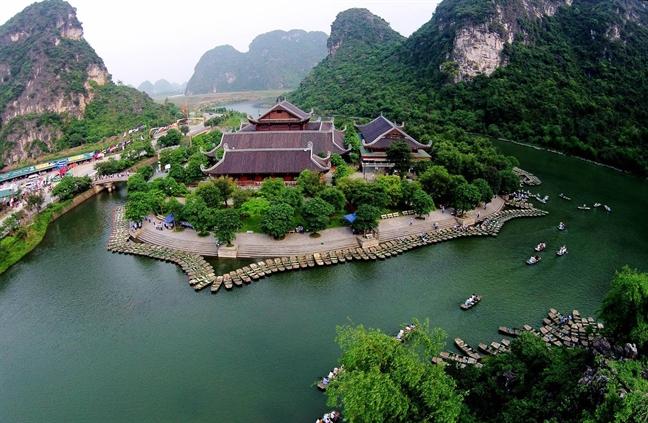 Qua tai du khach, Ninh Binh van dang cai Nam Du lich quoc gia 2020