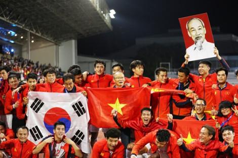 Tinh thần Không-Lùi-Bước của Park Hang-seo đăng quang