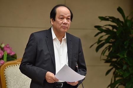Bo truong, Chu nhiem Van phong Chinh phu Mai Tien Dung: 'Sai thi nhan loi, dung do loi cho van thu, danh may'