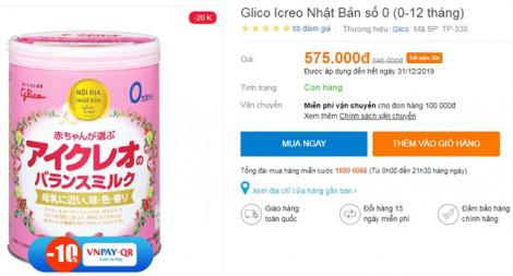 Vô tư quảng cáo sữa cho trẻ dưới 2 tuổi dù bị cấm