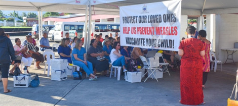 Quốc đảo Samoa kéo dài tình trạng khẩn cấp vì dịch sởi