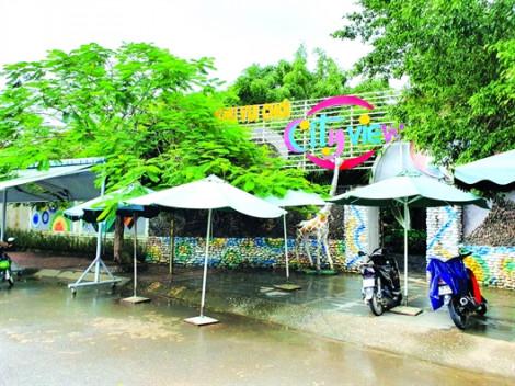 Xã hội hóa giáo dục tại Quảng Ngãi - Biến khu vui chơi trong trường học thành quán cà phê