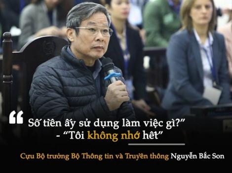 Cựu Bộ trưởng Nguyễn Bắc Son lại khai có nhận 3 triệu USD nhưng không đưa cho con gái