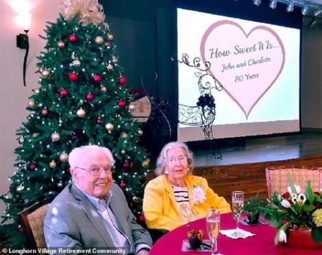 Đôi vợ chồng già nhất thế giới kỷ niệm 80 năm ngày cưới