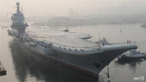 Trung Quốc chính thức đưa tàu sân bay tự chế tạo vào hoạt động ở Biển Đông