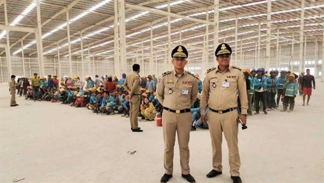 Campuchia bat 154 nguoi Trung Quoc va Viet Nam lam viec bat hop phap