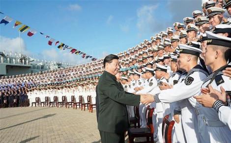 Trung Quốc dần hiện thực hóa đội tàu sân bay tại Biển Đông