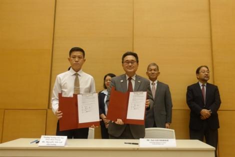 Chính phủ Nhật viện trợ chuẩn hóa bếp ăn Trường tiểu học Phan Đình Phùng