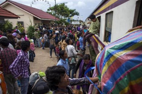 Thái Lan trục xuất gần 10.000 lao động nhập cư Campuchia