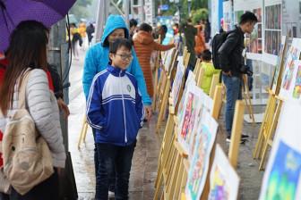 Vietnam Airlines tổ chức lễ trao giải và triển lãm tranh cuộc thi 'Sải cánh vươn cao - năm 2019'
