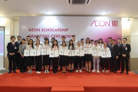 Học bổng AEON chắp cánh ước mơ cho sinh viên Việt Nam