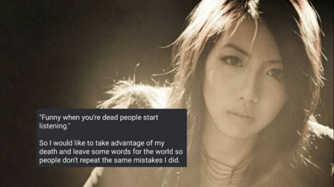 Nữ ca sĩ trẻ Singapore tự tử vì trầm cảm