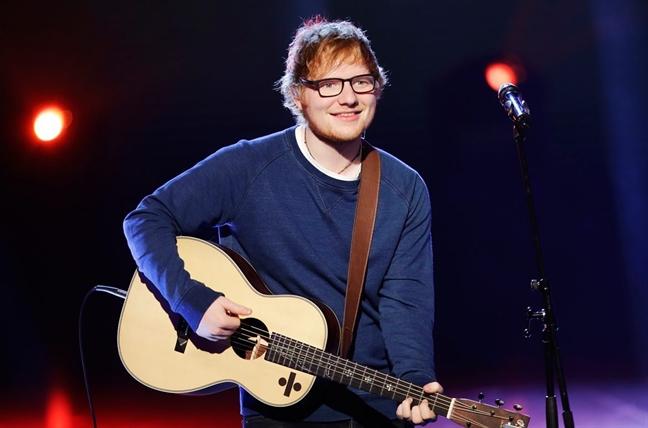 Ed Sheeran dung hat sau 2 nam hoat dong lien tuc