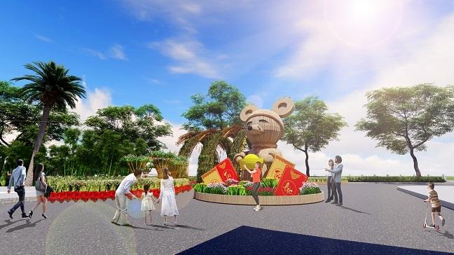 Hoi hoa xuan Phu My Hung 2020: Ruoc loc dong hoa