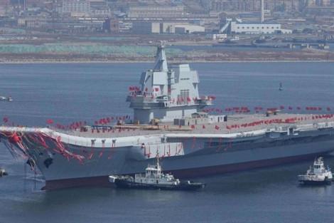 Trung Quốc dùng tàu sân bay Sơn Đông răn đe Đài Loan