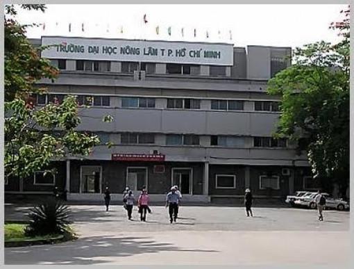 Trường ĐH Nông Lâm TP.HCM sẽ tuyển gần 5.000 sinh viên năm 2020