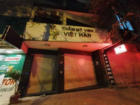 Nạn nhân tử vong do hút mỡ bụng ở Thẩm mỹ viện Việt Hàn là công an Vĩnh Phúc