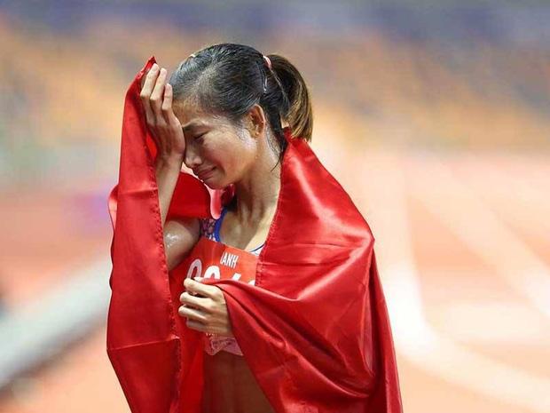 Nguyen Thi Oanh la Van dong vien so 1 cua the thao Viet Nam nam 2019