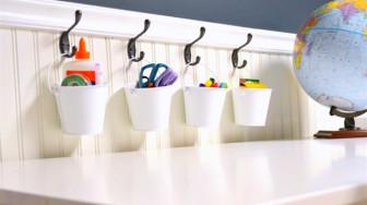 10 mẫu thiết kế đơn giản bạn có thể tự làm cho phòng chơi của bé thêm thú vị
