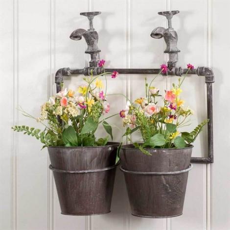 Mang hoa cỏ vào nhà theo phong cách riêng