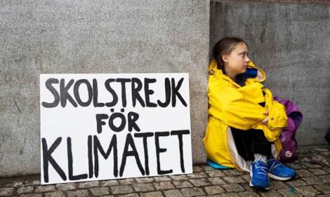 Tuổi trẻ toàn thế giới đứng lên 'vì khí hậu': Greta Thunberg, nhà hoạt động môi trường tuổi 16
